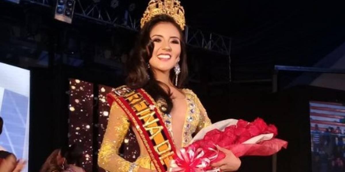 María Daniela Ortega es elegida, en medio de la polémica, nueva Reina de Loja