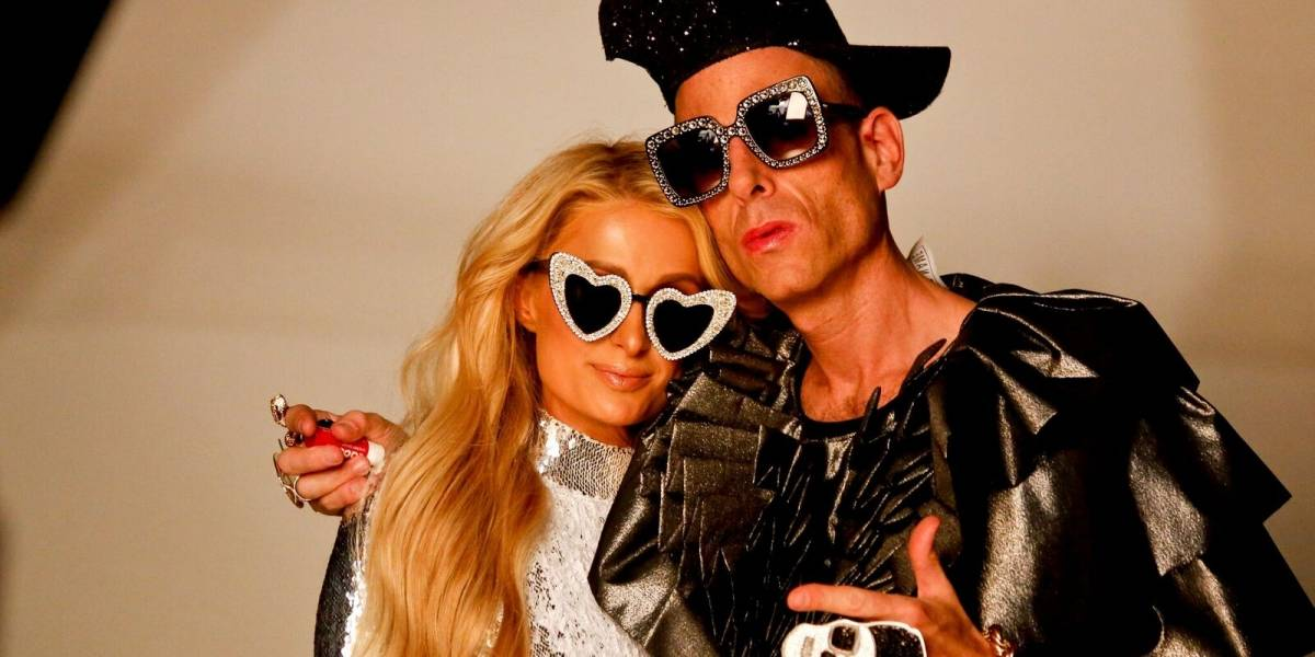 """Paris Hilton y Edy Smol graban divertido programa """"Cuídate de la Cámara"""""""
