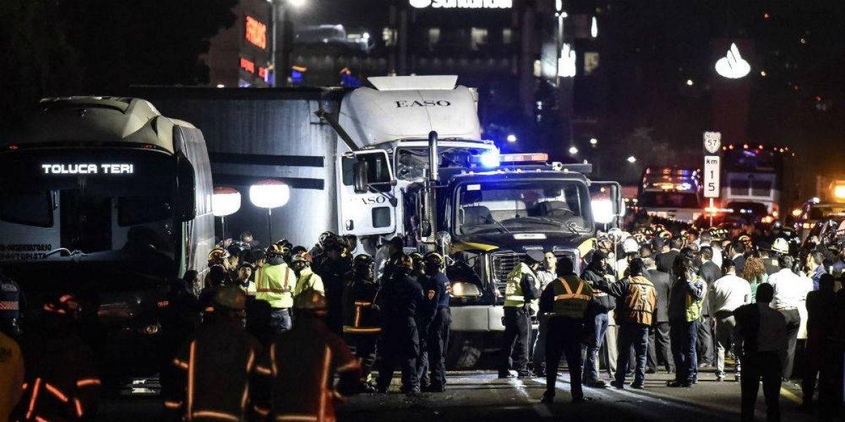 Envían al penal a mujer que ocasionó accidente en la México-Toluca