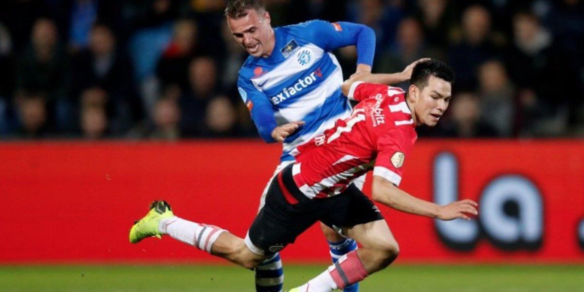 El PSV y 'Chucky' golean al De Graafschap y mantiene su invicto