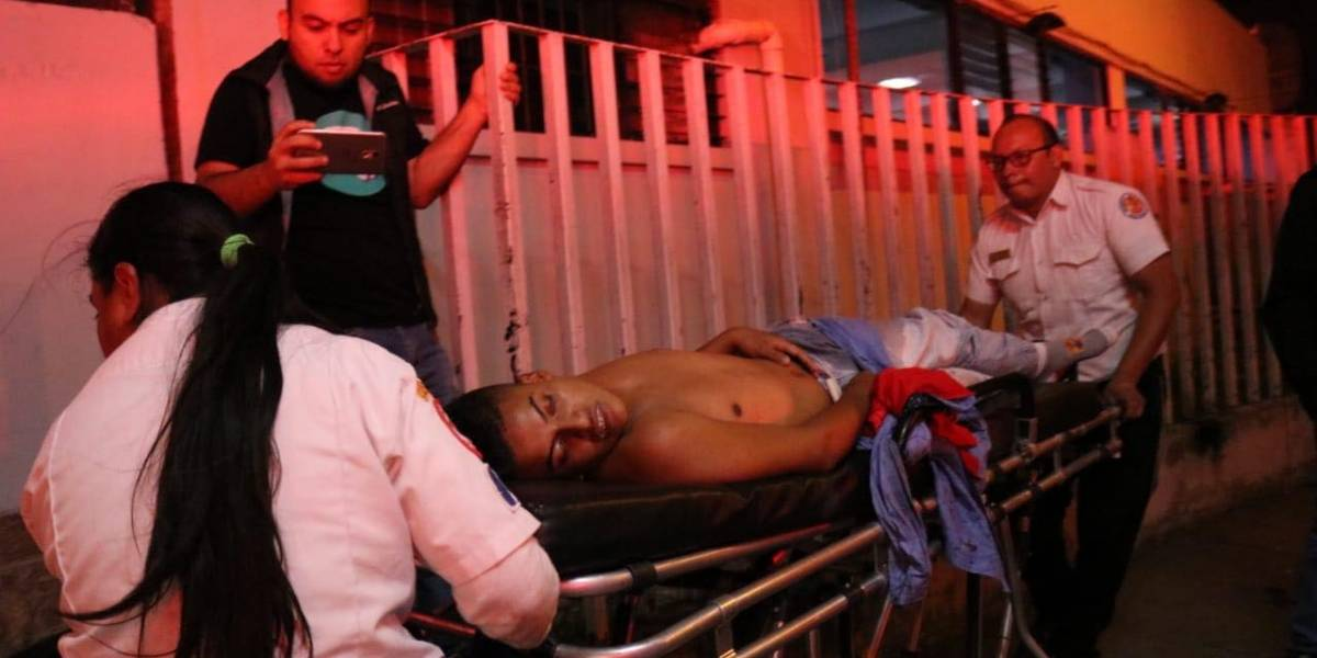 Balacera en la zona 6 deja dos muertos y al menos 11 heridos
