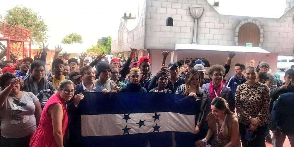 Llegan primeros integrantes de la Caravana Migrante a Guadalajara