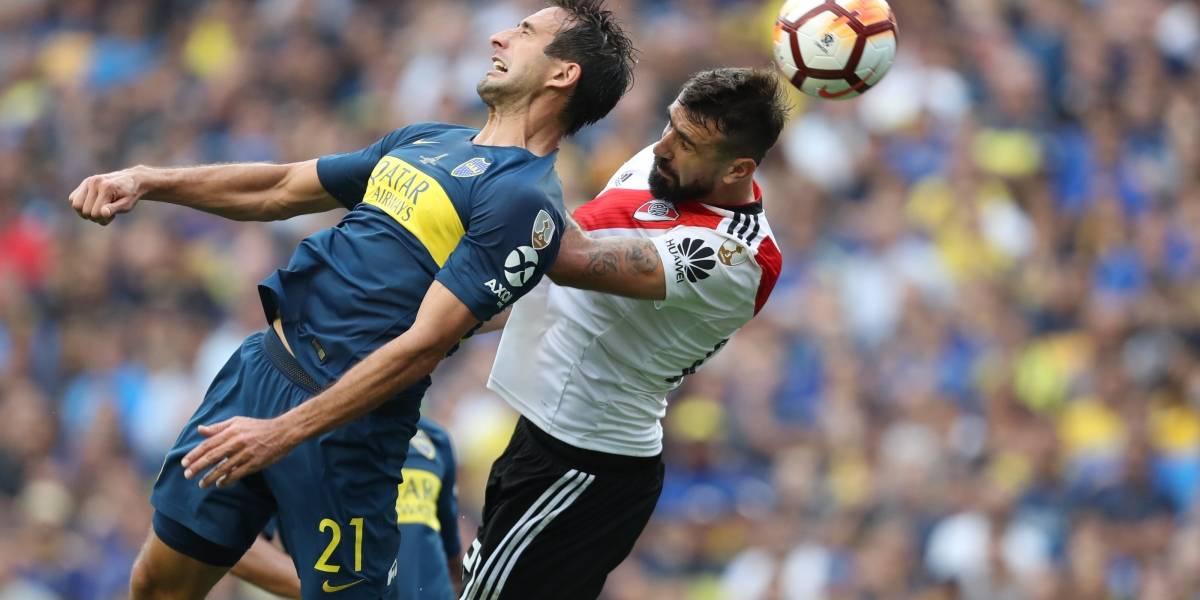 Boca Juniors vs River Plate empatan 2-2 en el partido de ida por la final de la Copa Libertadores