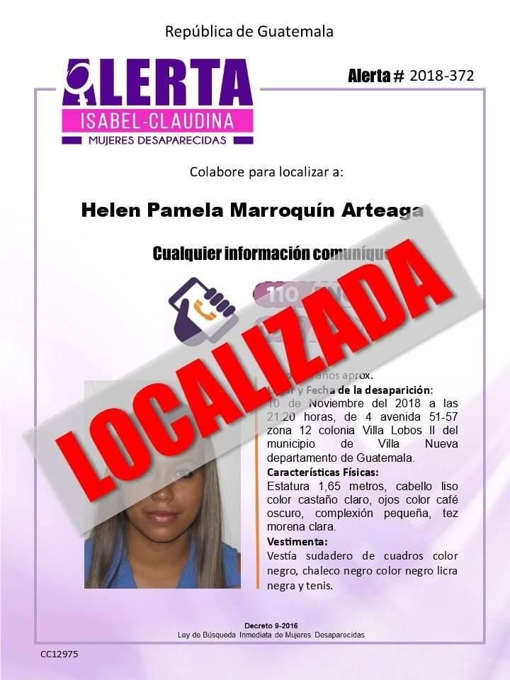 Alerta Isabel-Claudina