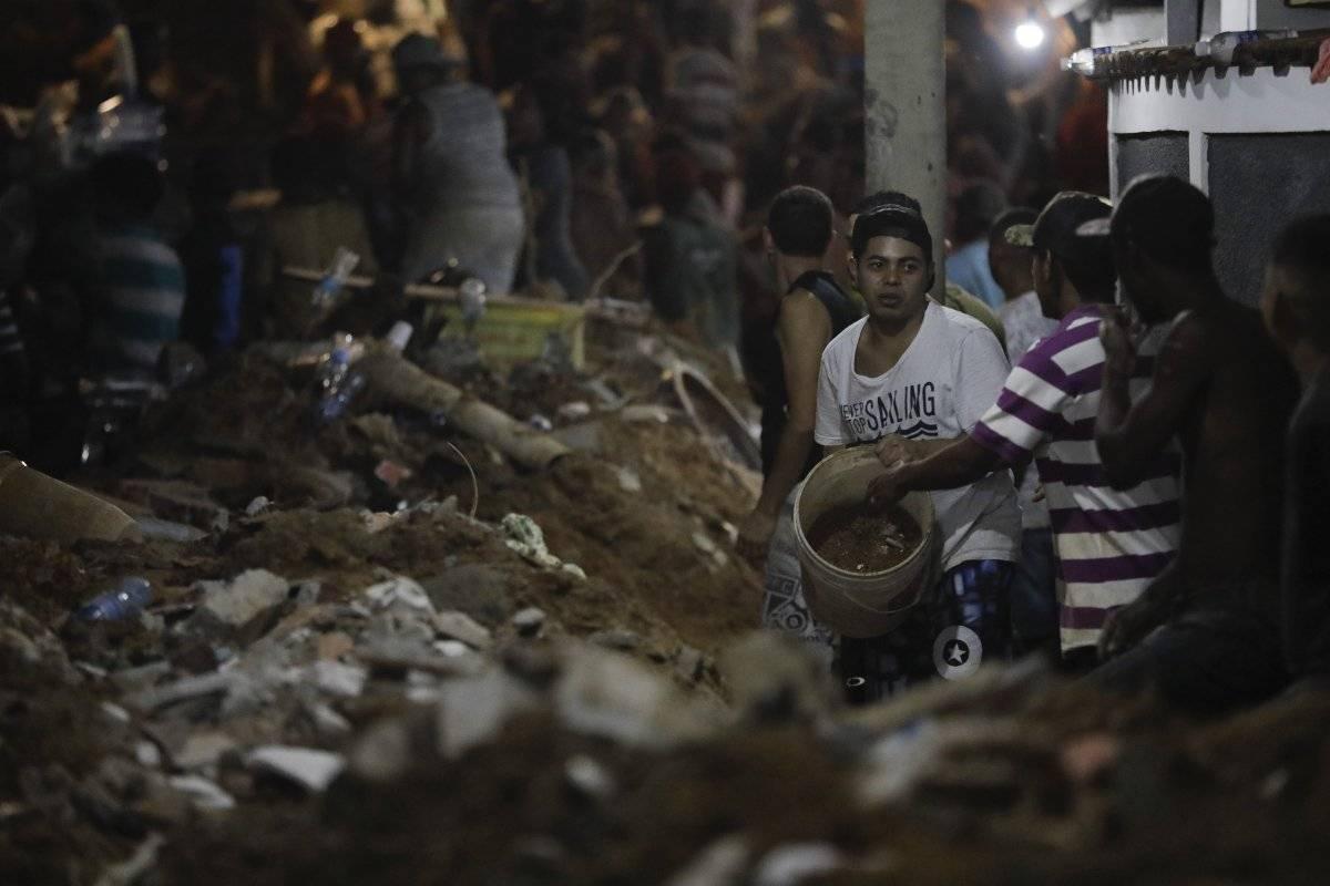 deslizamiento de morro Brasil