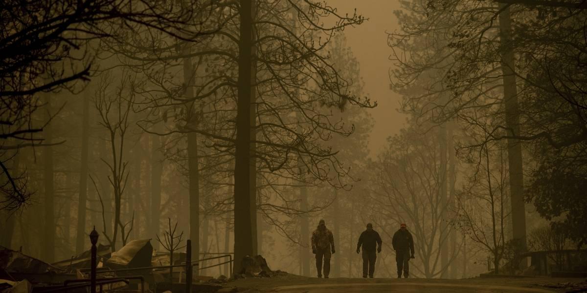 Aumentan las víctimas por incendios forestales en California