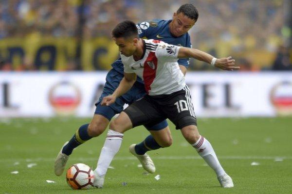 Boca y River sacan chispas / imagen: AP