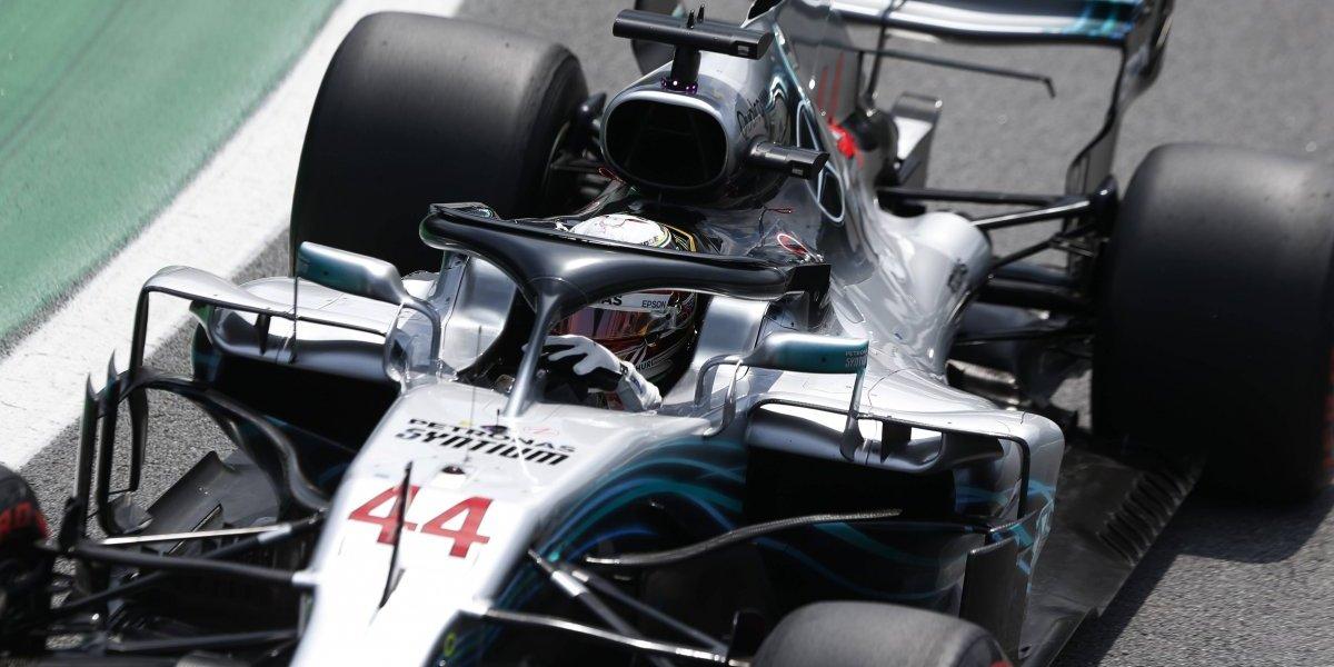 Hamilton se quedó con el GP de Brasil y le dio el título de constructores de la F1 a Mercedes