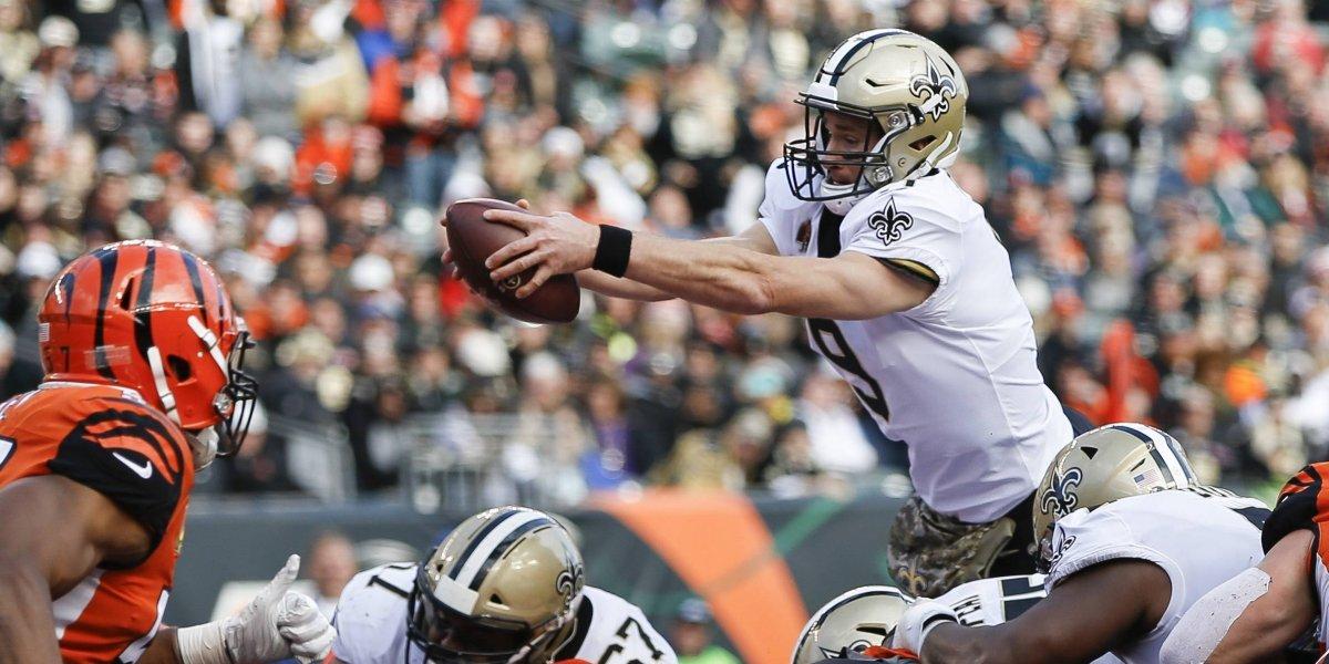 Drew Brees vuelve a estampar su nombre en la historia de la NFL