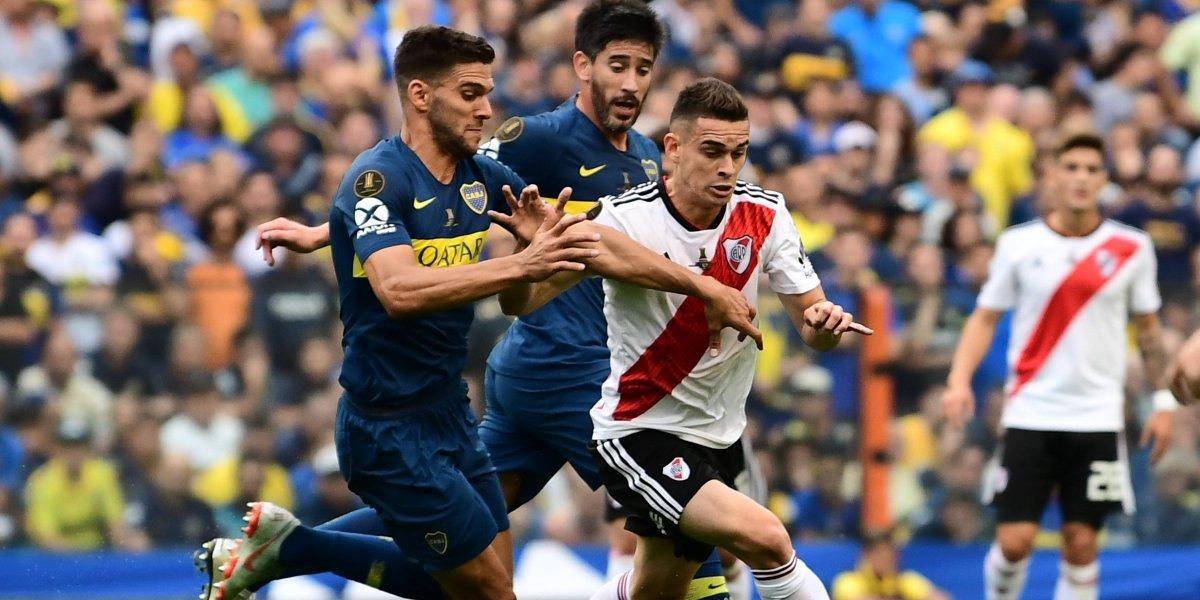 Boca y River empatan en el partido de ida en la Final de la Copa Libertadores