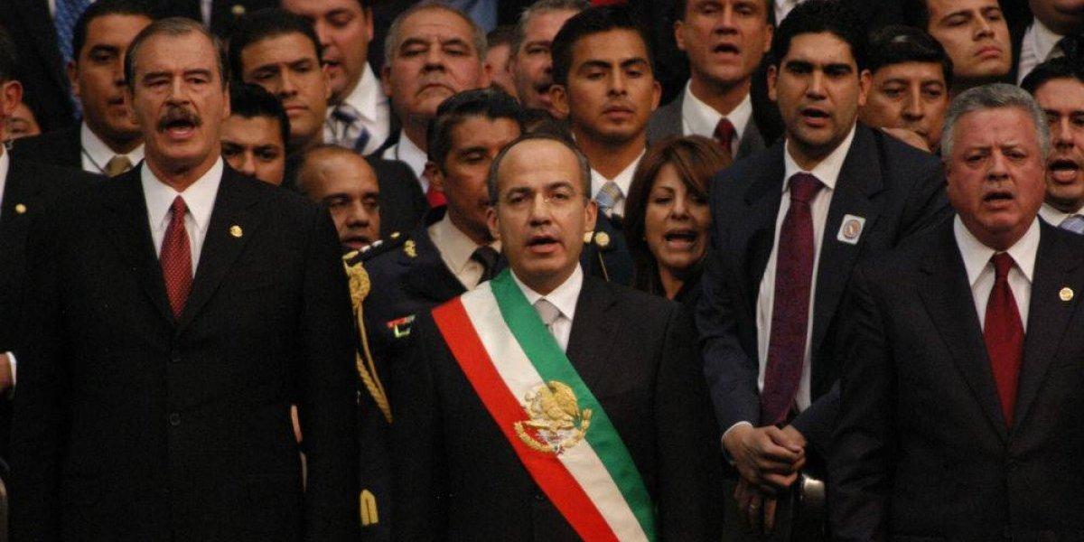 FOTOS: El fin de 38 años panistas de Felipe Calderón