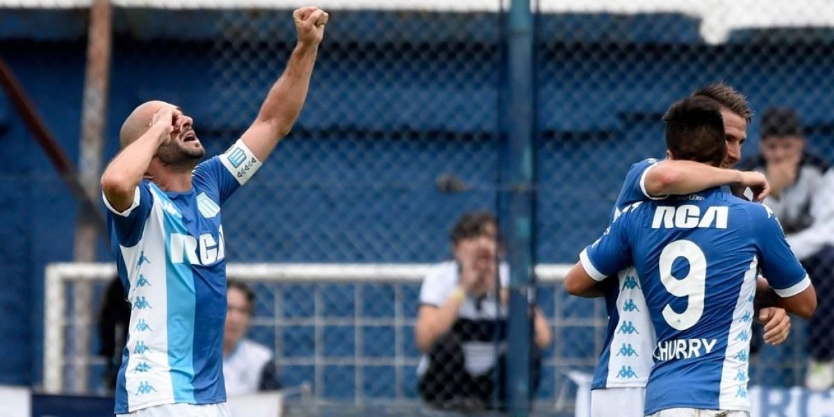 Racing de los chilenos vence y mira a todos desde lejos en la Superliga de Argentina