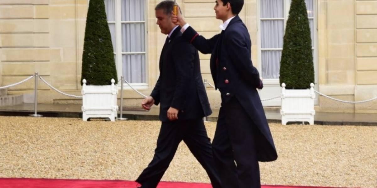 Duque viaja a París para conmemorar 100 años del fin de la Primera Guerra Mundial