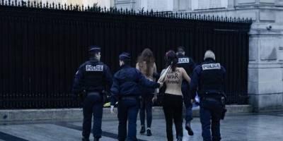 Activista de FEMEN detenida en París