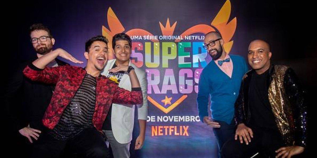 """""""Super Drags"""", la nueva serie de Netflix dirigida a la comunidad LGBTI"""