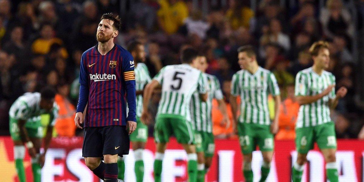 Betis rompe racha de 20 años y gana al Barça de visita