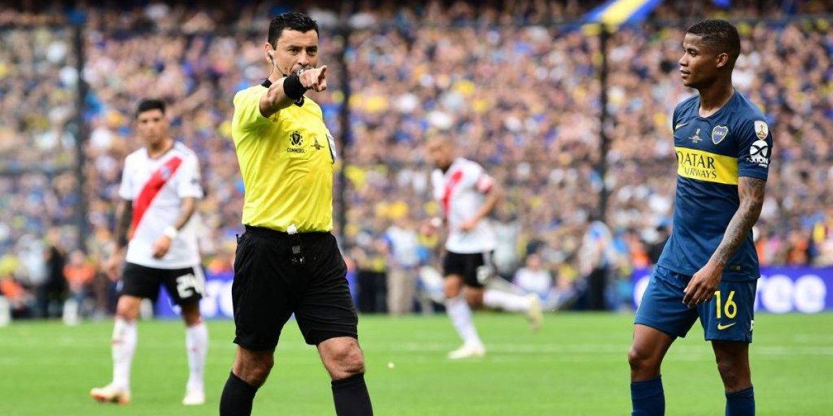 Tobar no se achicó en La Bombonera y tuvo un excelente arbitraje en la final de la Libertadores entre Boca y River