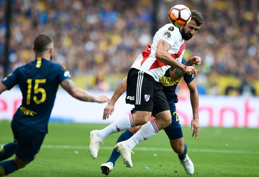 Lucas Pratto destacó en la final de la Libertadores por luchar cada pelota / Foto: Getty Images