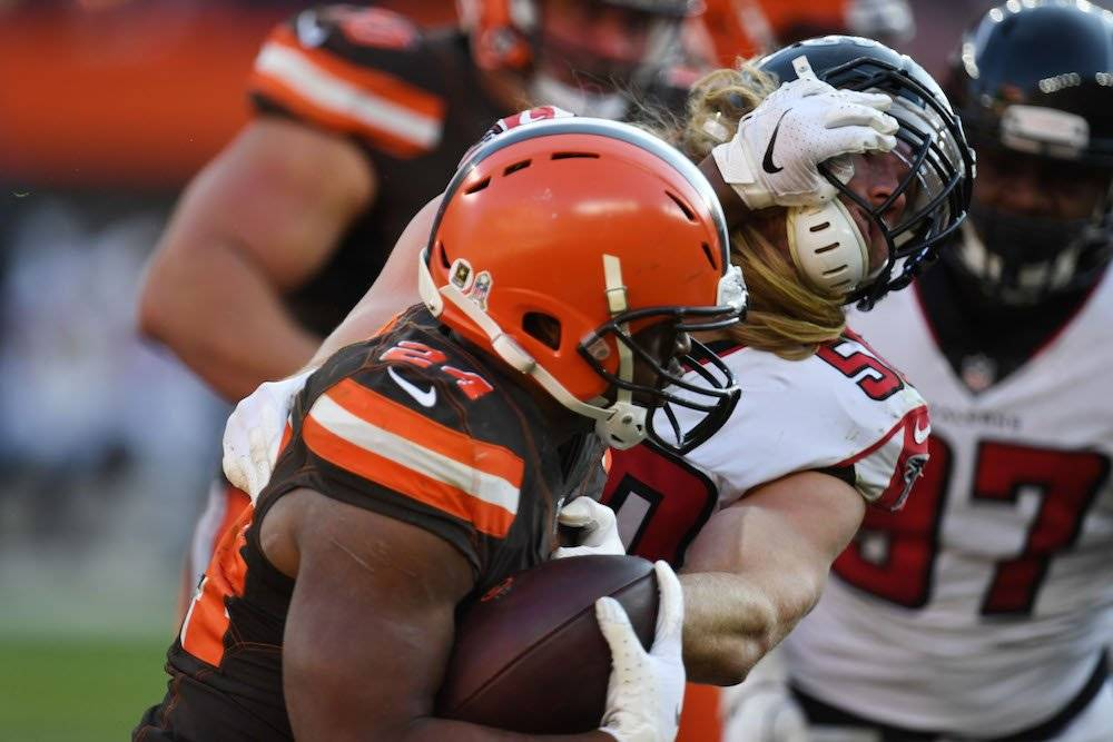 Falcons 16-28 Browns / Getty Images