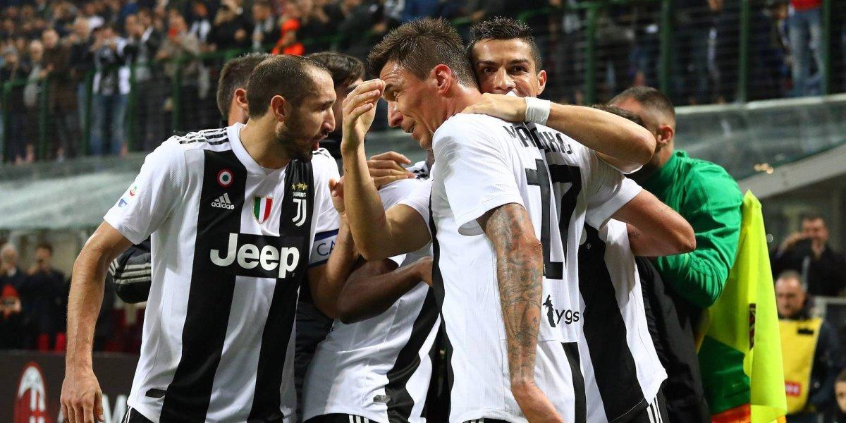 CR7 brilla con la Juve; Higuaín es expulsado con Milán