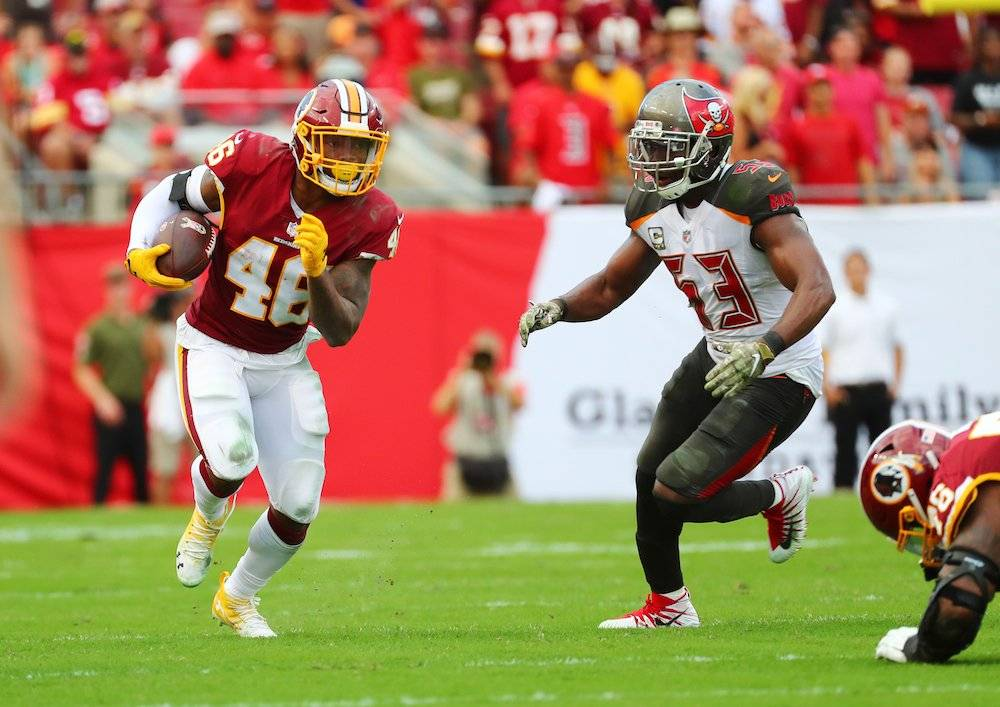 Redskins 16-3 Buccaneers / Getty Images