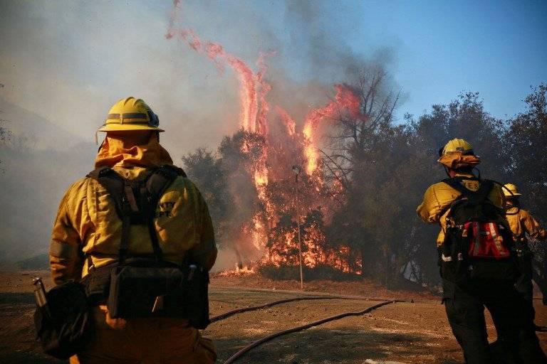 Incendios sin control en California