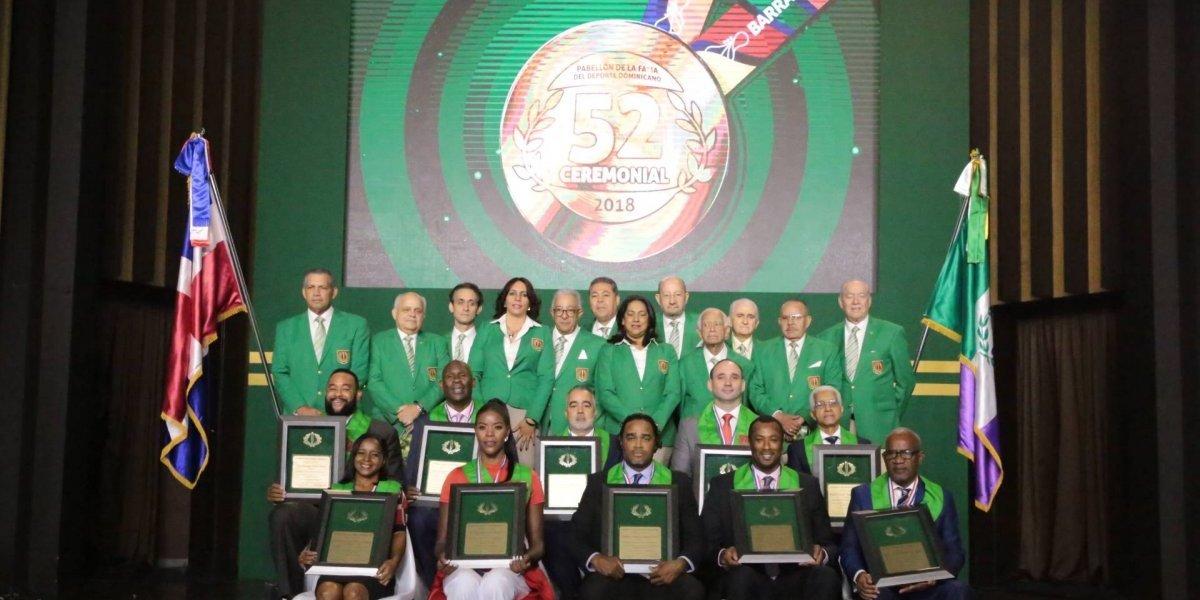 Pabellón de la Fama eterniza a sus héroes del deporte