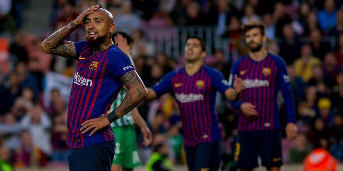 """Vidal las canta claras tras la derrota del Barcelona: """"No pueden venir al Camp Nou y hacernos cuatro goles"""""""
