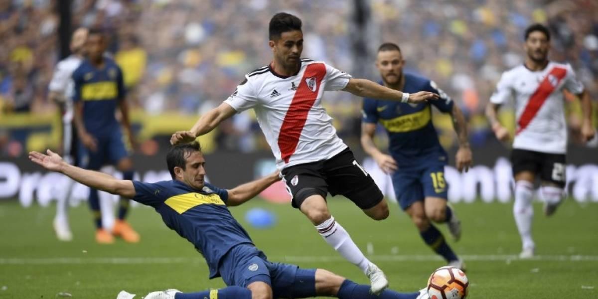 River le arranca un empate a Boca en la final de ida de la Libertadores