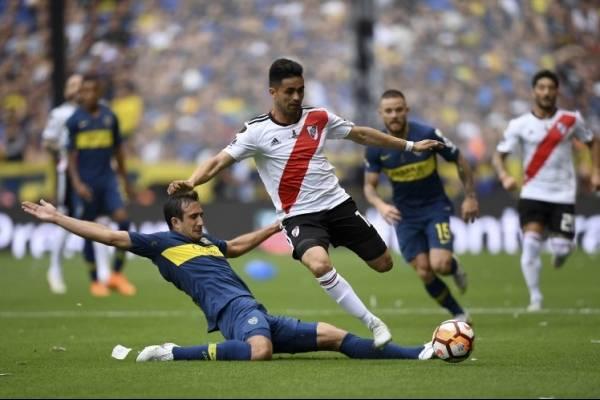 Boca Juniors vs River Plate en la final de la Copa Libertadores 2018