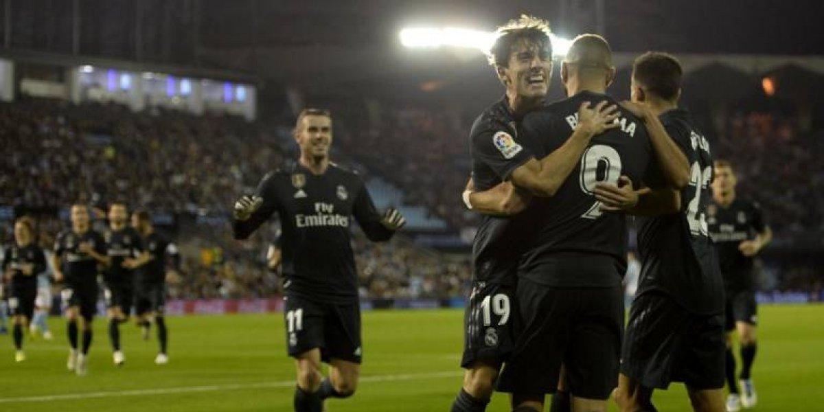 El Real Madrid derrota al Celta y mantiene su racha positiva