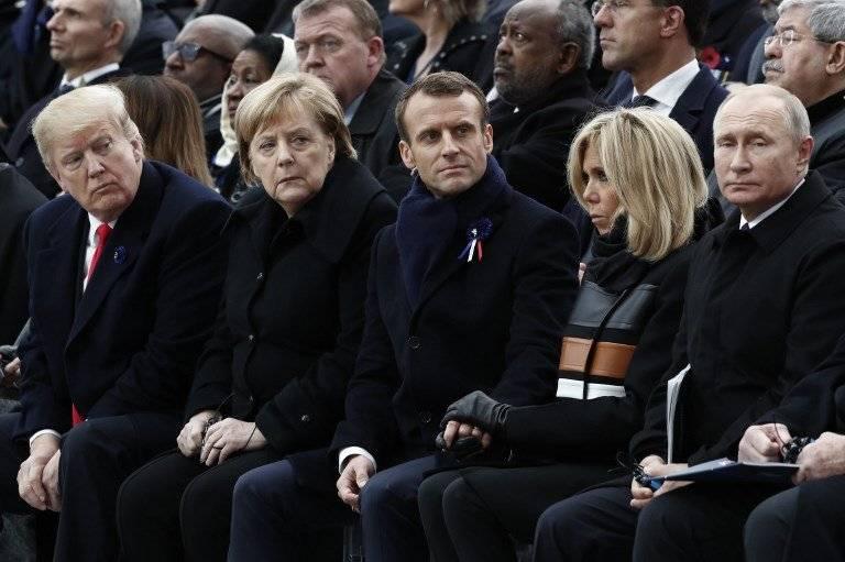 Reunión de líderes mundiales en París