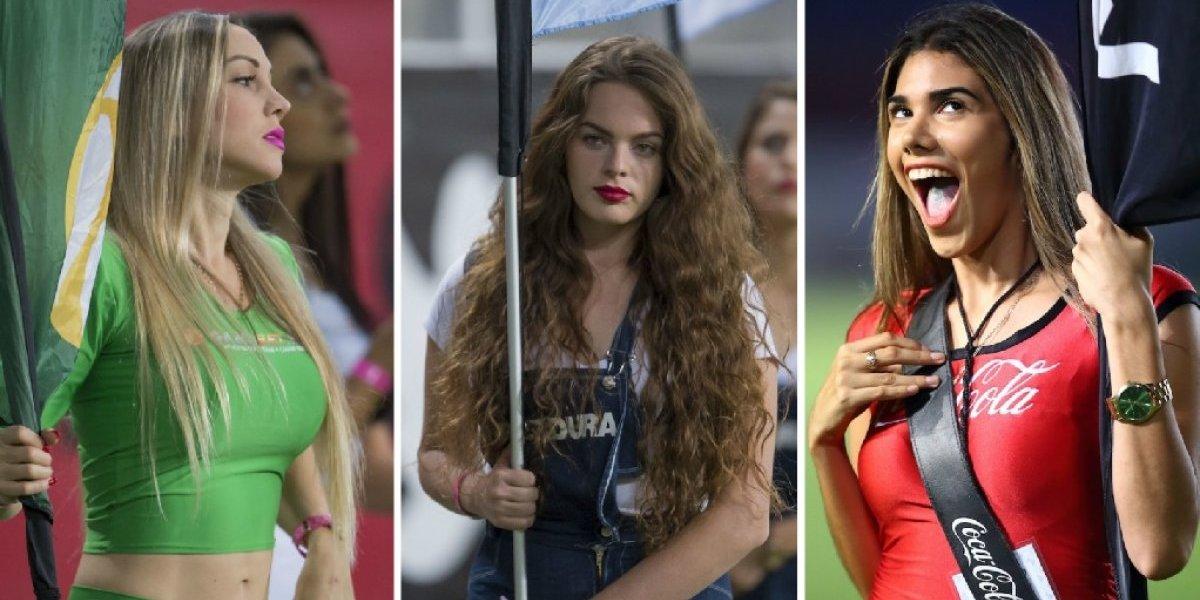 Las chicas de la jornada 16 del Apertura 2018