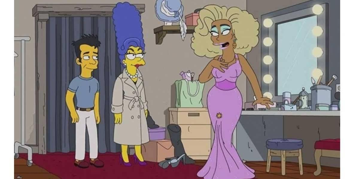 Homer será drag queen em episódio de 'Os Simpsons' com RuPaul; veja