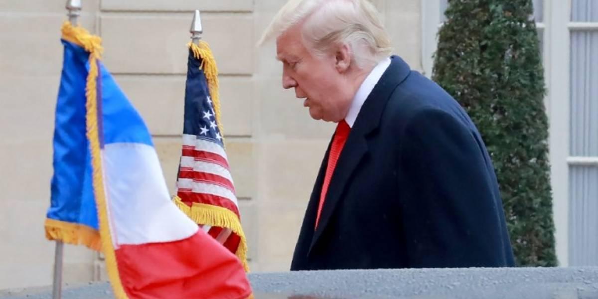 Trump, en París para conmemorar el centenario del armisticio