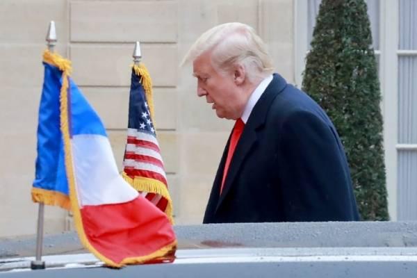 Donald Trump en París
