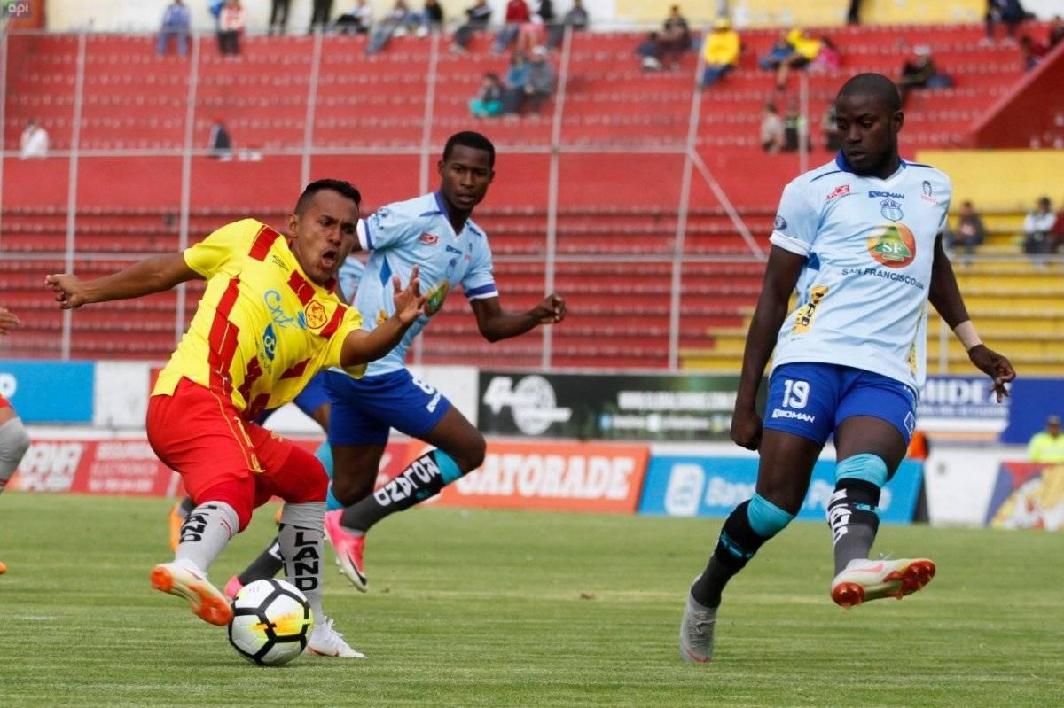 Aucas ganó 2-1 a Macará y el cuadro ambateño pierde la punta