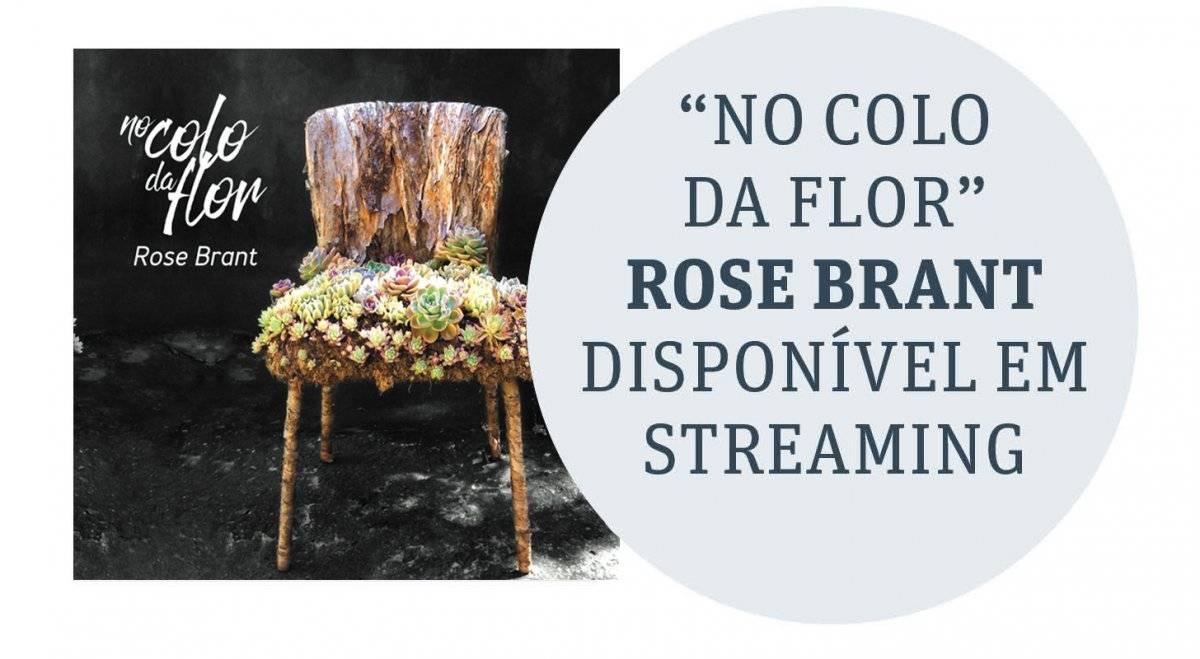 No Colo da Flor capa cd Rose Brant
