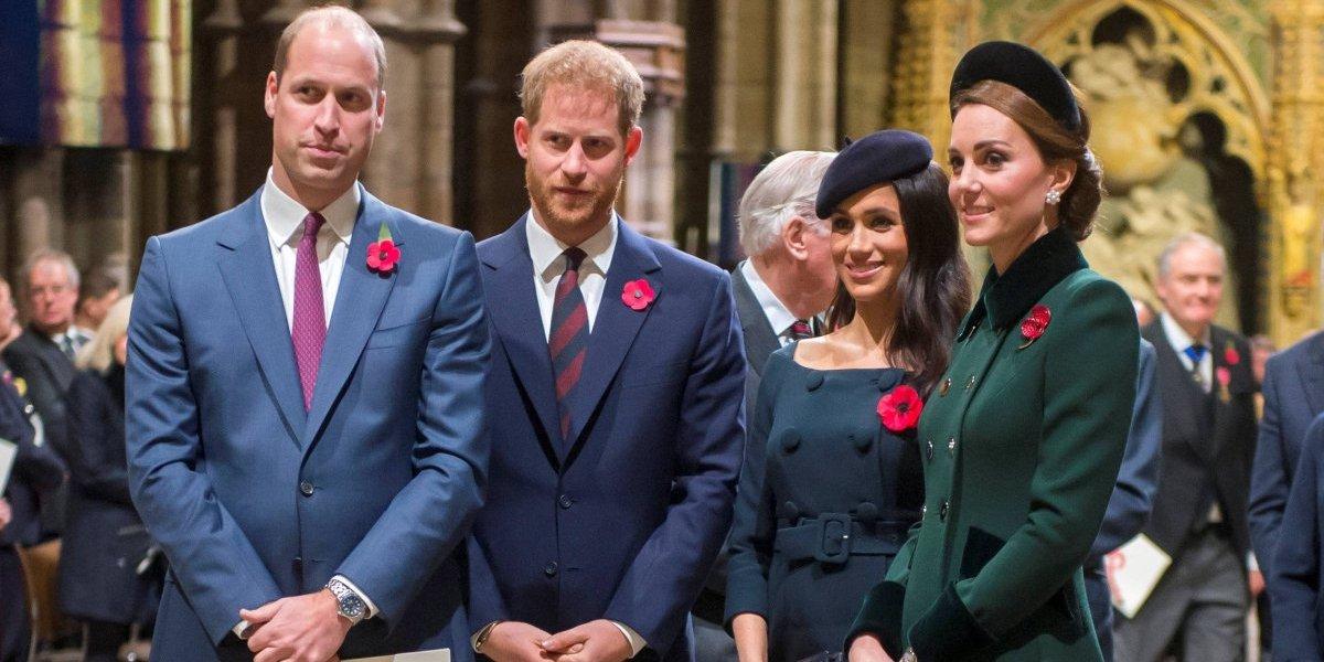 O deslumbrante duelo de joias de Meghan e Kate na festa de aniversário do Príncipe Charles