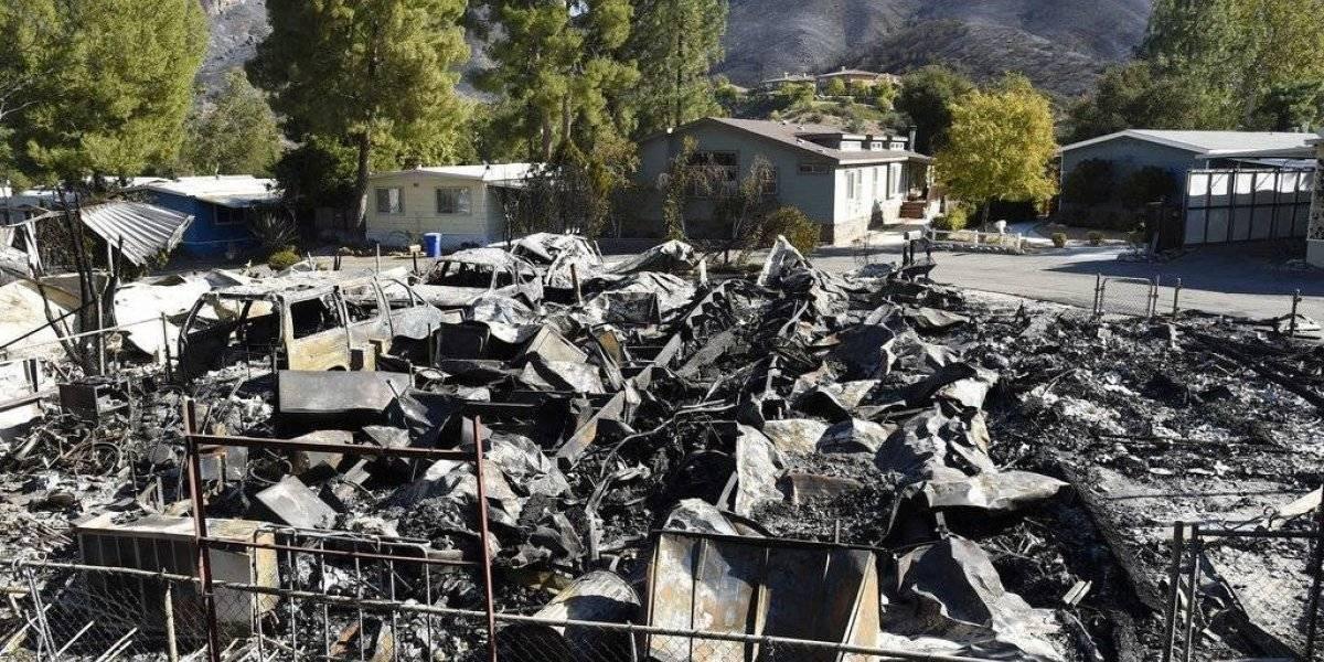 Devastación y 29 muertes por incendios en California