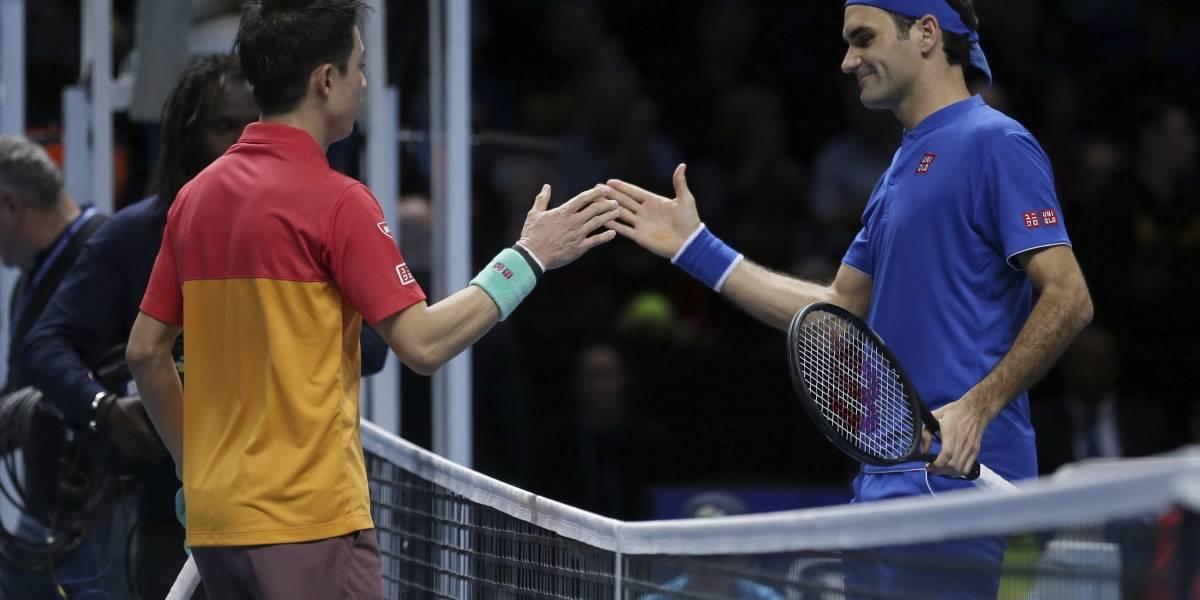 Sorprenden a Federer en la Copa Masters