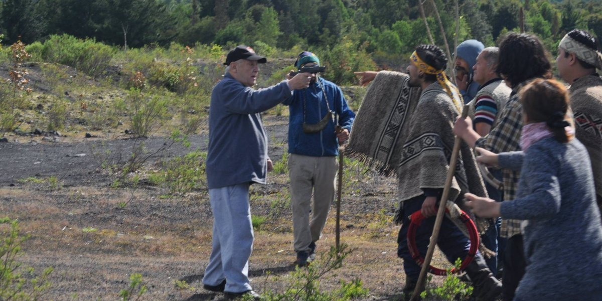 Investigarán a todos: hombre que apuntó con un arma y comunidad mapuche quedaron bajo la lupa de Fiscalía