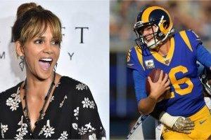 Halle Berry queda sorprendida de que Rams tenga una jugada con su nombre