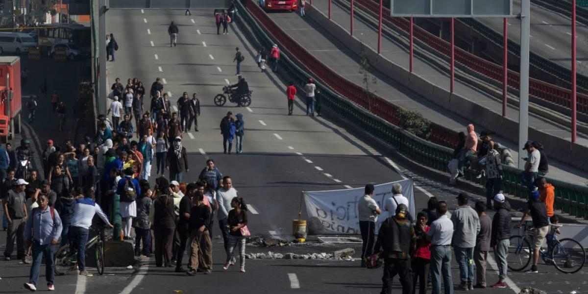 Incursión policial en Edomex desata bloqueo de 18 horas en la México-Pachuca