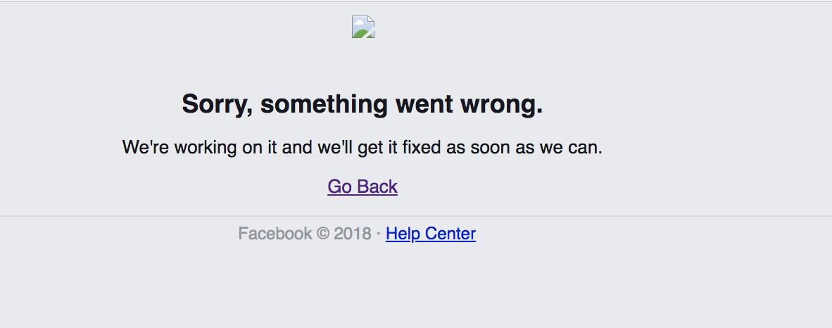 Caída Facebook