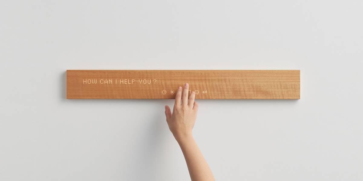 Este 'pedazo de madera' se convertirá en tu asistente personal