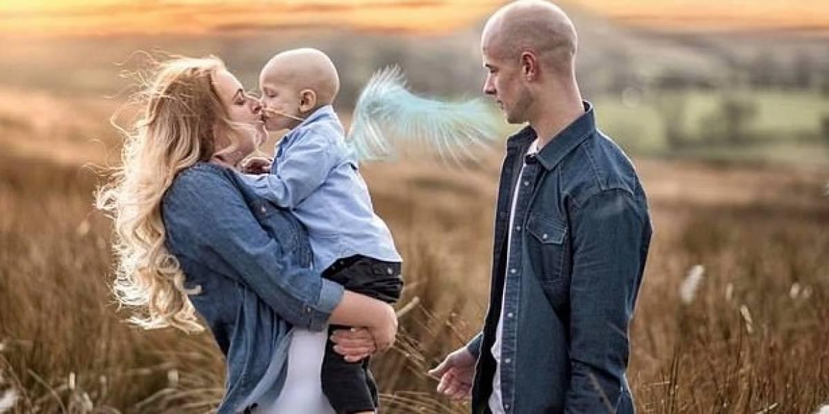 """""""Mamá, lo siento por esto"""": las desgarradoras últimas palabras de niño de 5 años con cáncer que falleció en los brazos de su madre"""