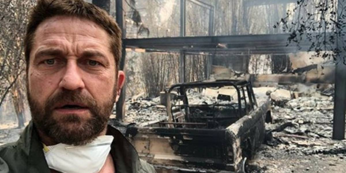 La desesperación de los famosos que perdieron sus casas por incendio en California