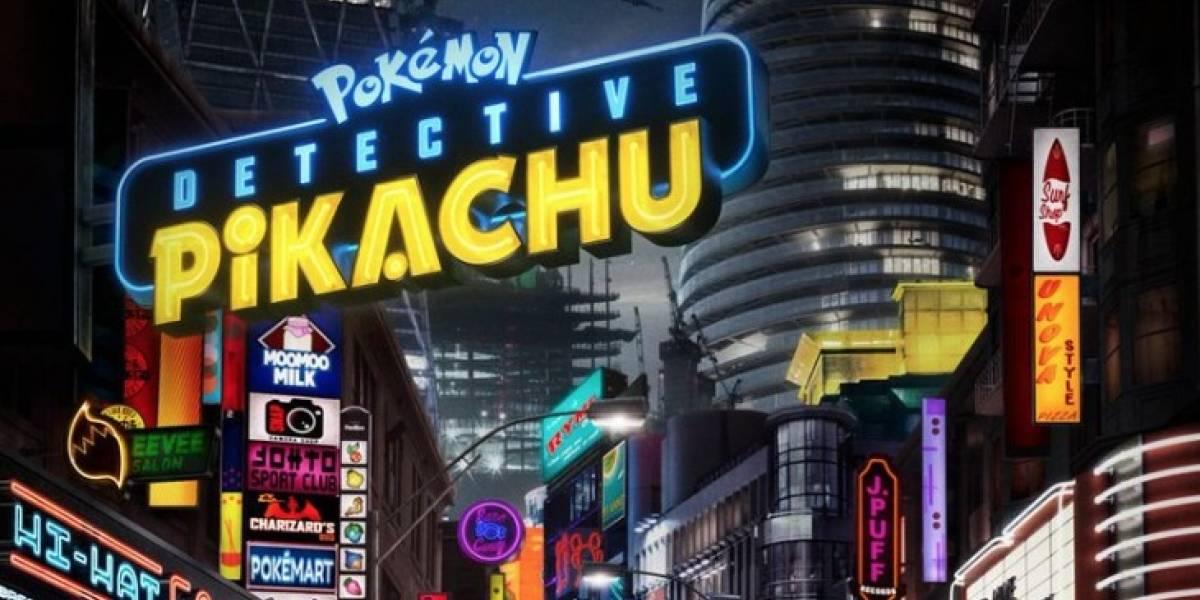 Se revela el primer tráiler de Pokémon: Detective Pikachu