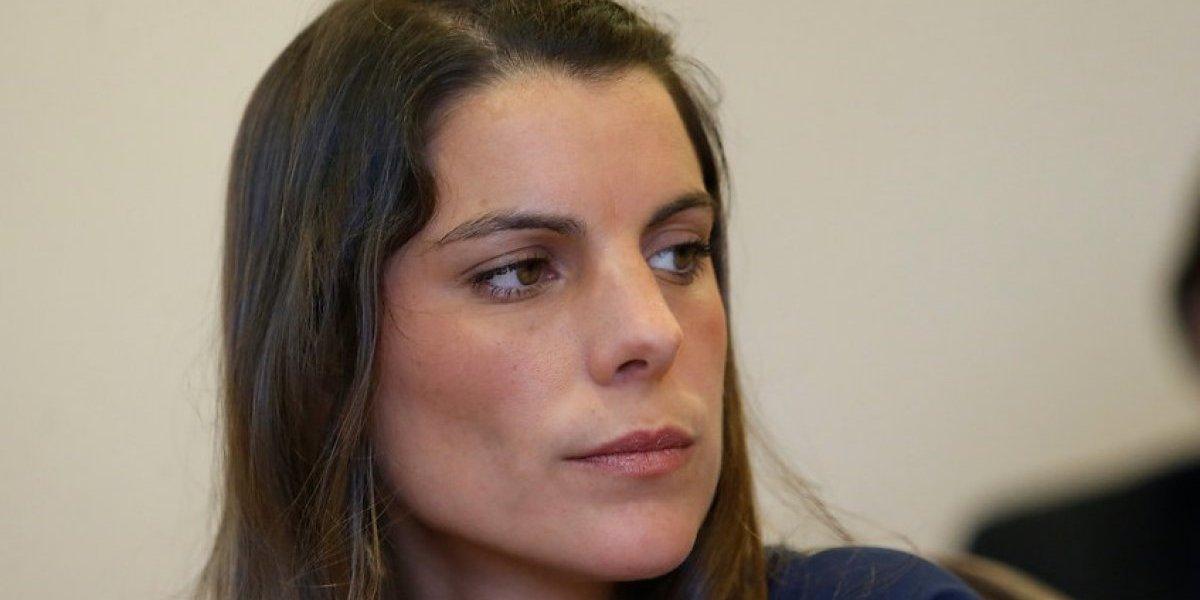 Maite Orsini da positivo de coronavirus y se queda sin votar en el plebiscito